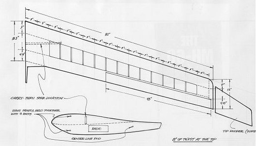 Woodwork Flying wing glider plans Plans PDF Download Free floating platform house decorating ...